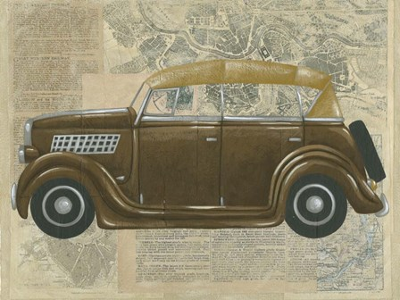 Tour by Car II by Chariklia Zarris art print
