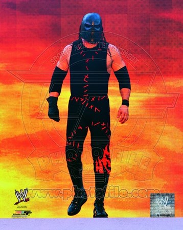 Kane WrestleMania XXVIII Action art print