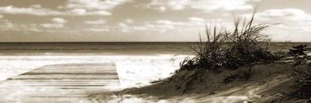 Boardwalk Shadows by Noah Bay art print