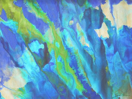Blue Crush I by Jason Higby art print