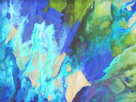 Blue Crush II by Jason Higby art print