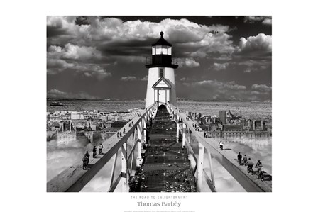 The Road to Enlightenment by Thomas Barbey art print