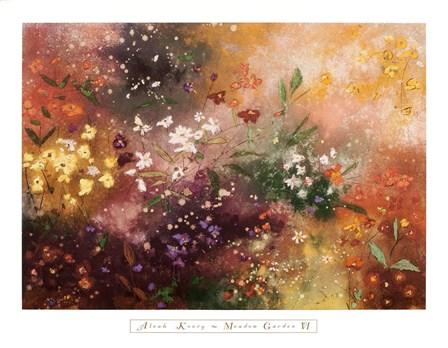 Meadow Garden VI by Aleah Koury art print