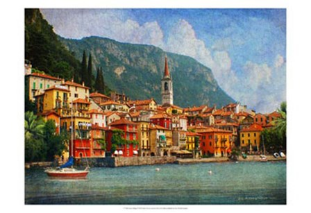 Como Village by Chris Vest art print