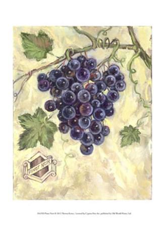 Pinot Noir by Theresa Kasun art print