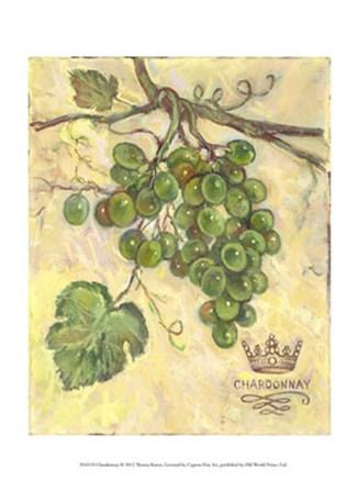 Chardonnay by Theresa Kasun art print