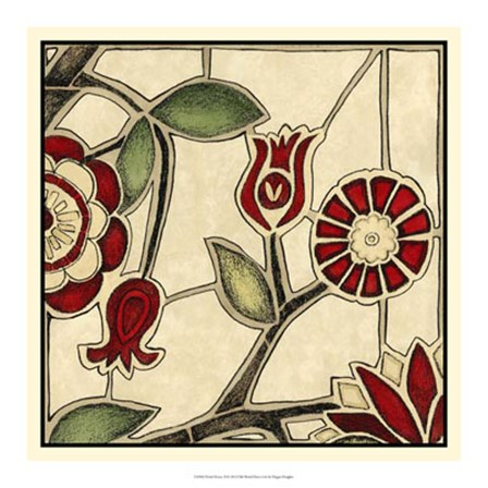 Floral Mosaic II by Megan Meagher art print