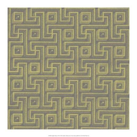 Graphic Pattern VIII by Vision Studio art print