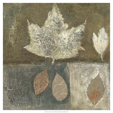 Neutral Leaves I by Elena Ray art print