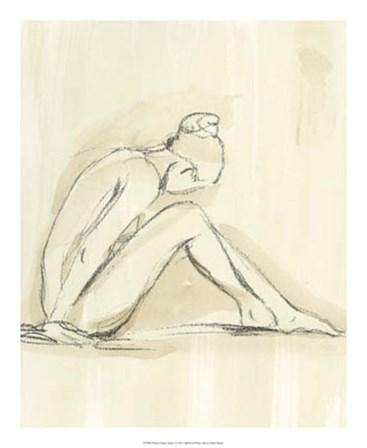 Neutral Figure Study I by Ethan Harper art print