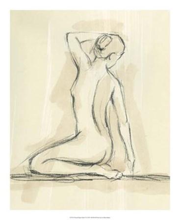 Neutral Figure Study IV by Ethan Harper art print