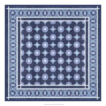 Italian Mosaic in Blue II by Vision Studio art print