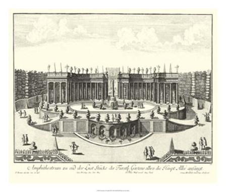 Fountains of Versailles III by Joseph Decker art print