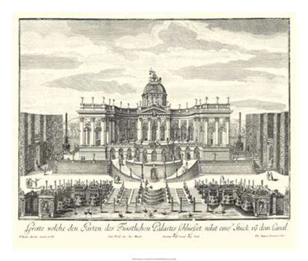 Fountains of Versailles IV by Joseph Decker art print