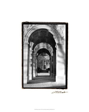 Parisian Archways I by Laura Denardo art print