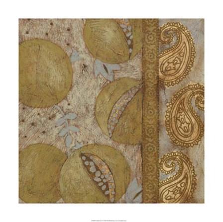 Gilded Sari IV by Chariklia Zarris art print