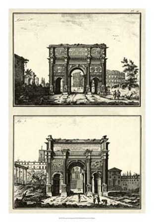 The Arch of Constantine by Denis Diderot art print