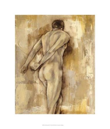 Nude Figure Study IV by Jennifer Goldberger art print