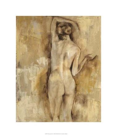 Nude Figure Study V by Jennifer Goldberger art print