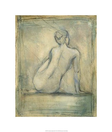 Contemporary Figure Study I by Ethan Harper art print
