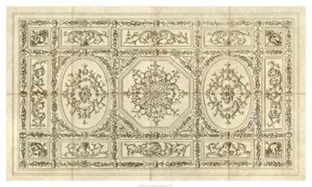 Ornamental Ceiling Design art print