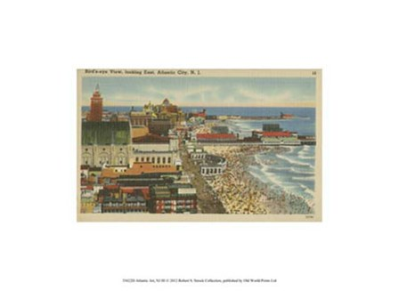Atlantic City, NJ- III art print
