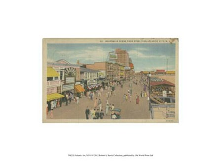 Atlantic City, NJ- VI art print