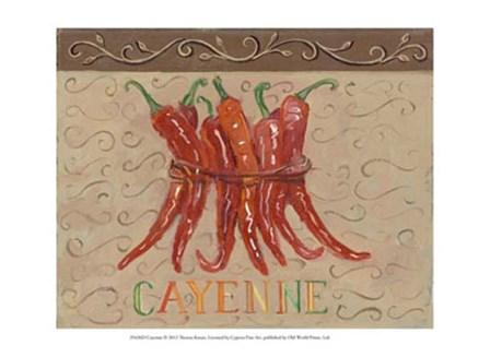 Cayenne by Theresa Kasun art print
