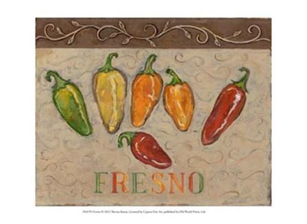 Fresno by Theresa Kasun art print