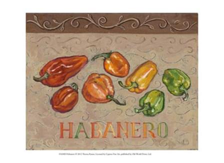 Habanero by Theresa Kasun art print