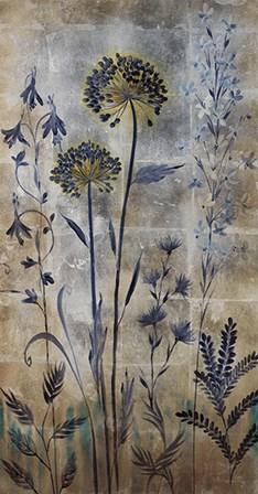 Silver Botanicals II by Liz Jardine art print