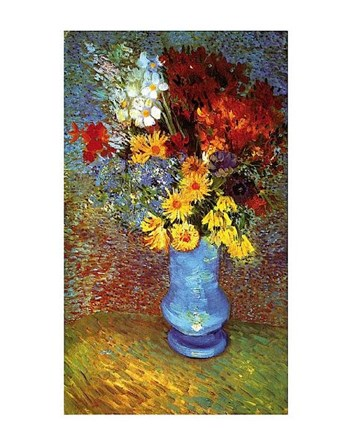 Vase With Anemone by Vincent Van Gogh art print