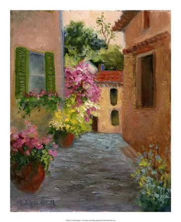 A French Passage by Mary Jean Weber art print