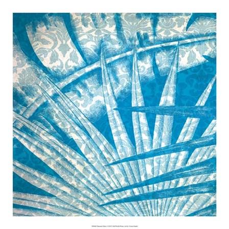 Damask Palms I by Vision Studio art print