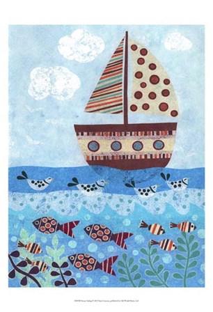 Sunny Sailing by Kim Conway art print