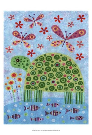 Turtle Pond by Kim Conway art print