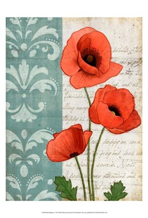 Red Poppies by Matt Patterson art print