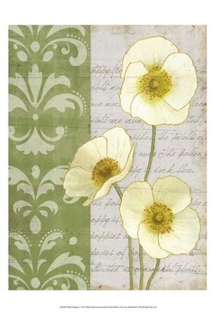 White Poppies by Matt Patterson art print