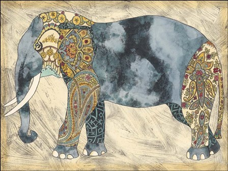 Royal Elephant by Chariklia Zarris art print