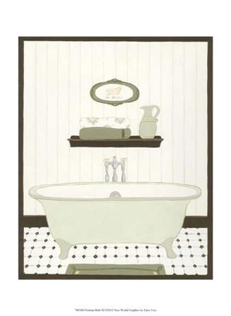 Parisian Bath III by June Erica Vess art print