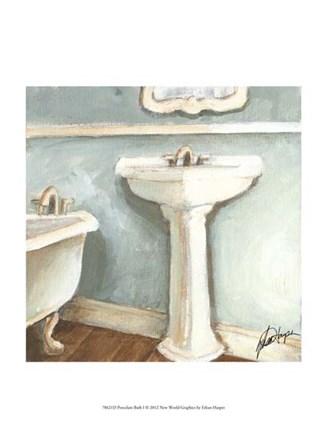 Porcelain Bath I by Ethan Harper art print