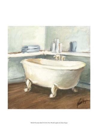 Porcelain Bath II by Ethan Harper art print