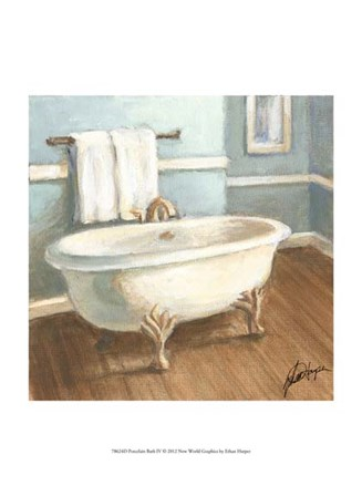Porcelain Bath IV by Ethan Harper art print