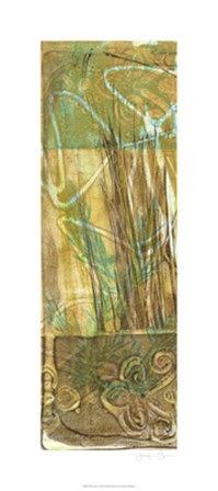 Wheat Grass I by Jennifer Goldberger art print