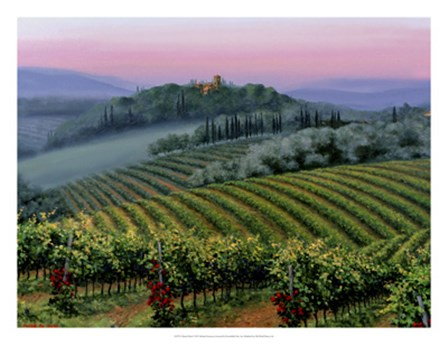 Chianti Dusk by Michael Swanson art print