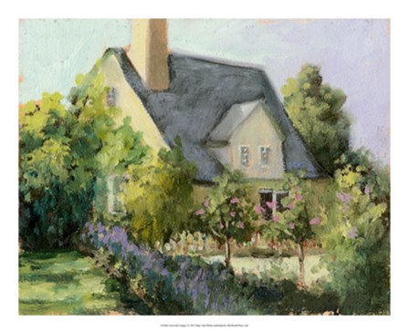 Cotswold Cottage I by Mary Jean Weber art print