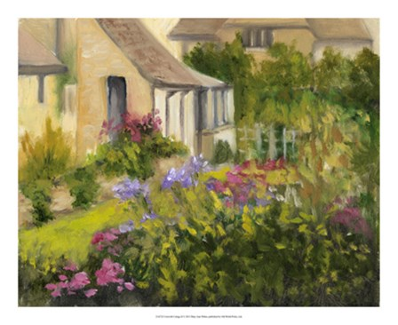 Cotswold Cottage II by Mary Jean Weber art print