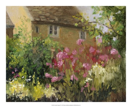 Cotswold Cottage IV by Mary Jean Weber art print