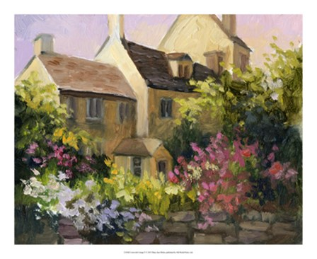 Cotswold Cottage V by Mary Jean Weber art print