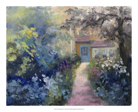 Cotswold Cottage VI by Mary Jean Weber art print